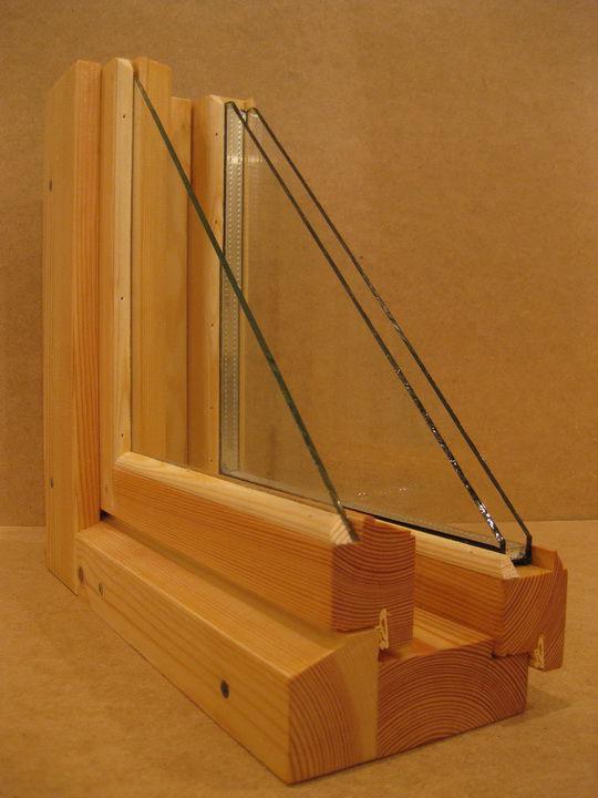 деревянная рама в разрезе