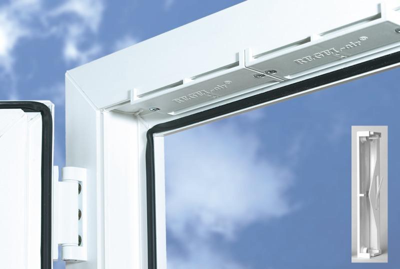 накладной клапан для окна
