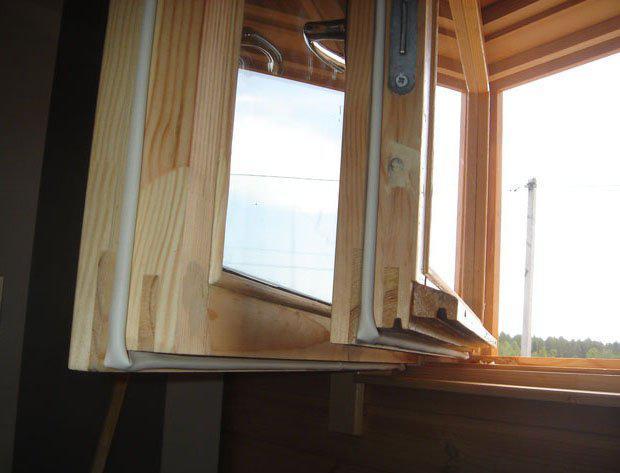 уплотнители для деревянных окон