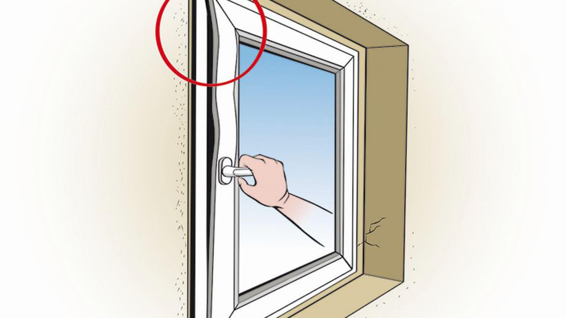 дефект окна