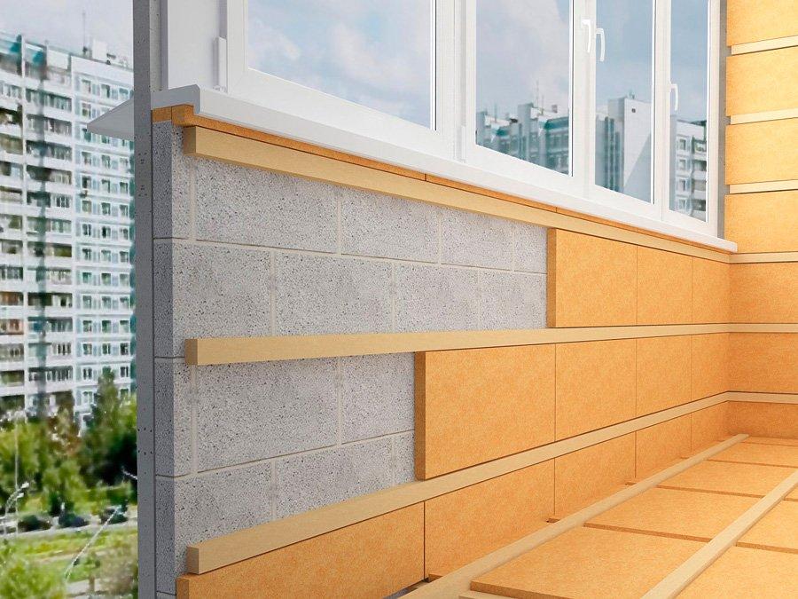 утеплять балкон
